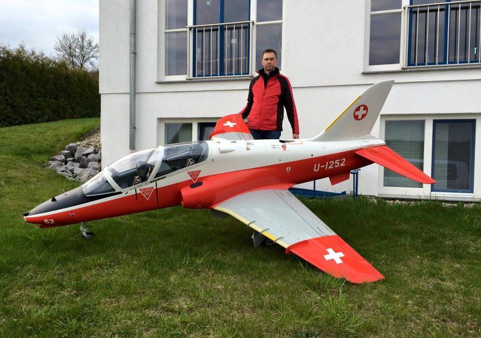 BAe Hawk 1:3,5 Scale WM Model